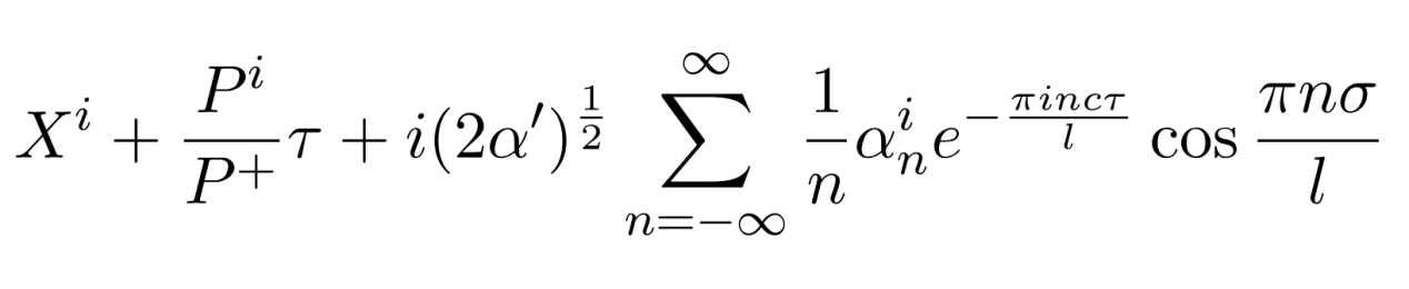 wave equation free open string